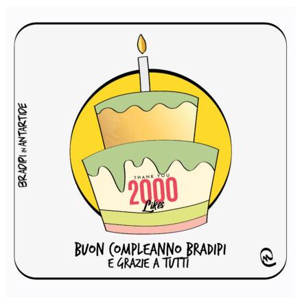 Buon compleanno Bradipi