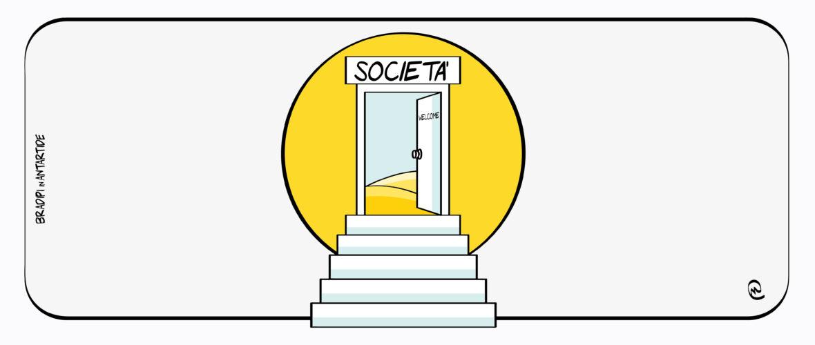 La giornata mondiale delle persone, che la società rende disabili.